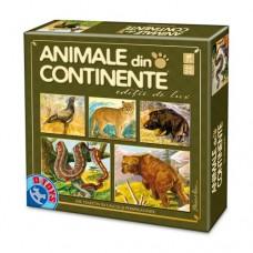 ANIMALE DIN CONTINENTE- EDITIE DE LUX