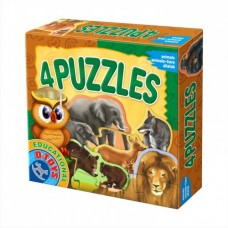 4 PUZZLE- ANIMALE SALBATICE