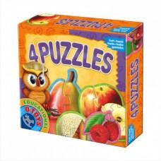 4 PUZZLE- FRUCTE
