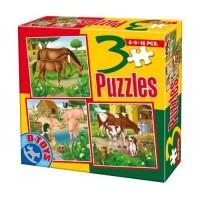 3 PUZZLE- ANIMALE DOMESTICE SI SALBATICE 02