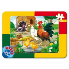 MINI PUZZLE 12 PLAN- ANIMALE