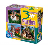 3 PUZZLE- ANIMALE DOMESTICE FOTO 02